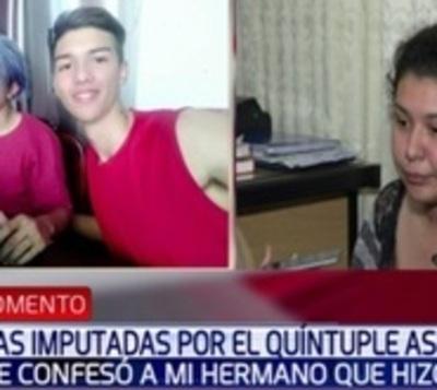 """Imputado denuncia que recibió amenaza de Bruno """"para que no hable"""""""