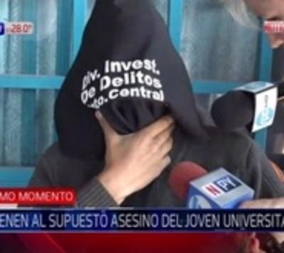 Detienen a presunto asesino de universitario