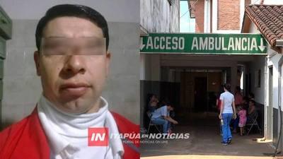 AUXILIAR DE ENFERMERÍA SE ENTREGÓ Y ESTÁ EN PRISIÓN
