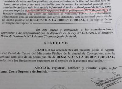 Fiscalía dilata imputación de Tati Urbieta
