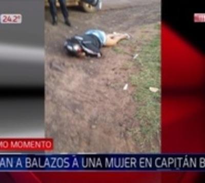 Matan de 12 balazos a una mujer en Capitán Bado