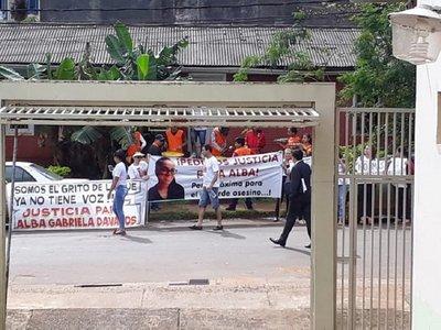 Caso Alba: Concluye audiencia de supuesto feminicidio