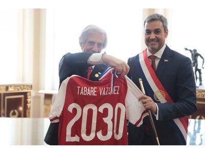 Marito y Tabaré promueven candidatura para el 2030
