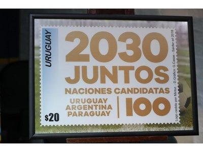 Uruguay lanza sello para impulsar candidatura 2030