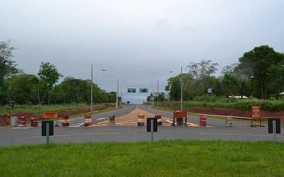 Clausuran ruta inaugurada durante Gobierno de Cartes