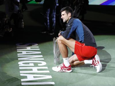Novak Djokovic triunfa en Shanghái