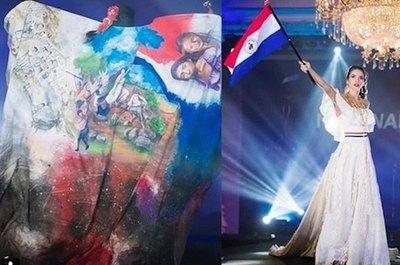 Miss paraguaya está entrando en el Top 10