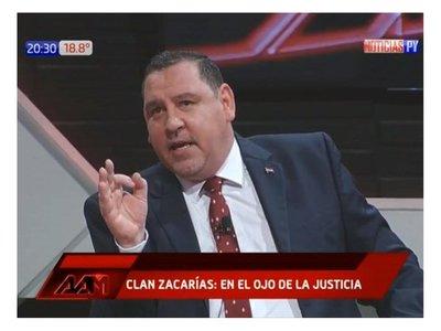 Zacarías Irún tiene un patrimonio de más de G. 23.000 millones