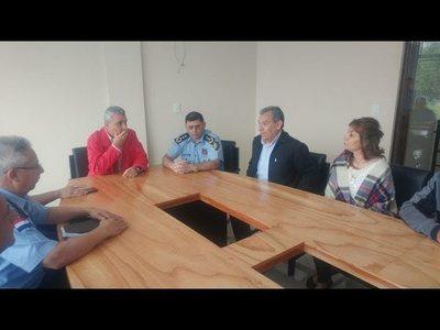 MINISTRO DEL INTERIOR RECORRIÓ ITAPÚA