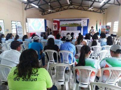 Ofrecen seminario sobre gestión del riesgo de desastre en Arroyito