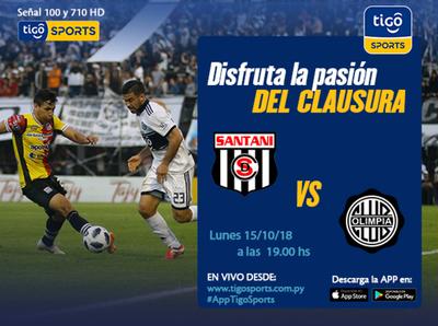 Deportivo Santaní vs. Olimpia