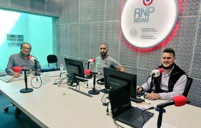 Sergio Orteman en Radio Nacional del Paraguay