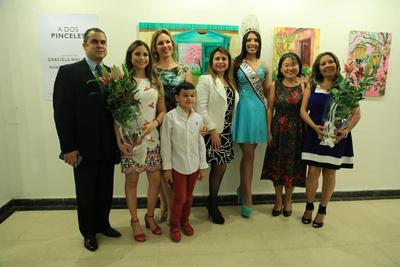 """Exposición """"A dos pinceles"""" en el Manzana de la Rivera"""