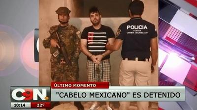 """Capturan en Pedro Juan a """"Cabelo mexicano"""", buscado en Brasil por narcotráfico"""
