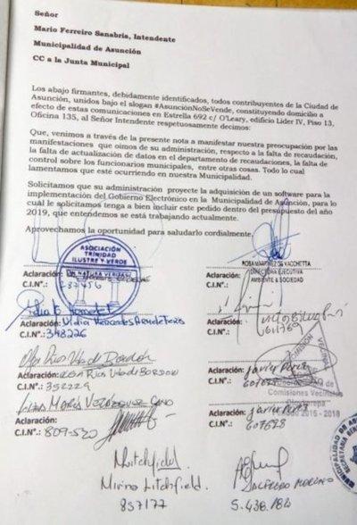 """Solicitan implementación del """"Gobierno Electrónico"""" en Asunción"""