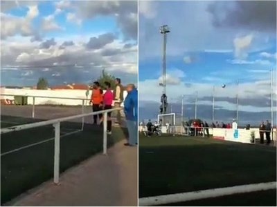Nunca antes visto: Gol olímpico de un arquero en el último minuto