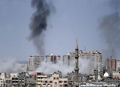 Ataque aéreo de Israel contra Hamas en Gaza