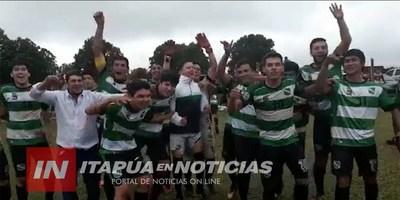 CLUB UNIÓN DE CARONAY ES TETRA CAMPEÓN EN ALTO VERÁ