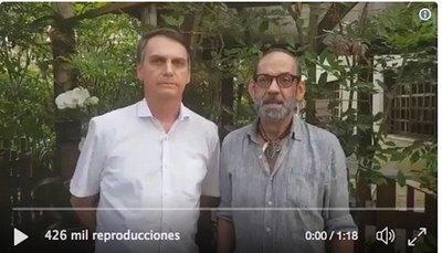 """Bolsonaro quiere """"amigarse"""" con gays"""
