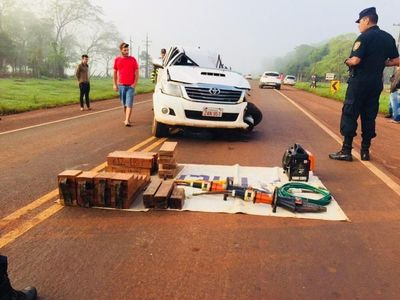Accidente en Minga Guazú deja dos fallecidos