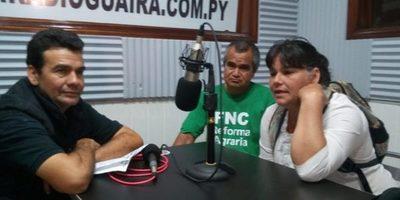 Paraguay Pyahura realizó volanteada pidiendo libertad de Genaro Meza