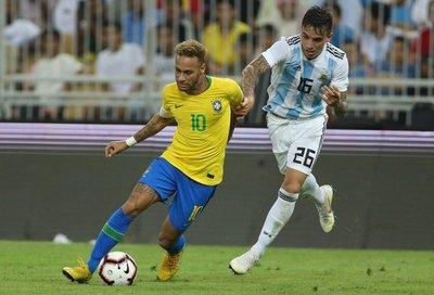 Brasil ganó el clásico