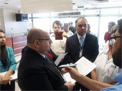 Clausuran servicio de internación de pasillo en Emergencias del IPS