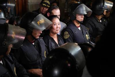 Tribunal aceptó apelación de Keiko Fujimori y ordena su liberación