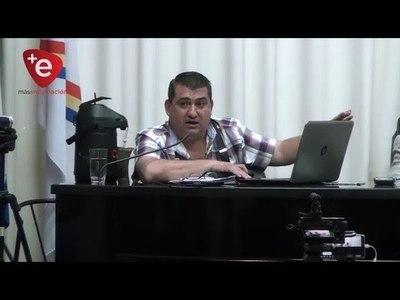 ALMUERZO ESCOLAR EN ENCARNACION: INTENDENTE PRESENTÓ INFORME ANTE LOS CONCEJALES