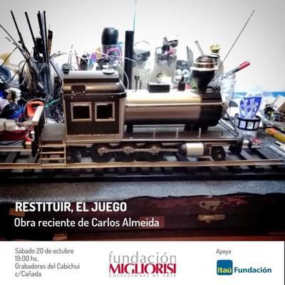 Exposición del artista Carlos Almeida en la Fundación Migliorisi