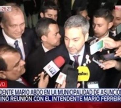"""A Mario Abdo le """"parece excelente"""" denuncia contra titular de Petropar"""
