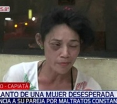 """Afectada por los maltratos denuncia: """"Mi vida vale G. 10 millones"""""""
