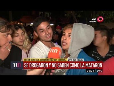 Encarnaceno y su pareja confesaron el crimen de Sheila: ''Tomamos droga y alcohol y no sabemos cómo'