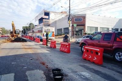 MOPC y Mota Engil definirán hoy trabajos del metrobús hasta diciembre