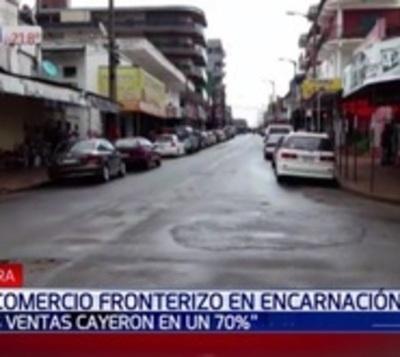 Ventas cayeron más del 60% en Encarnación por crisis en Argentina