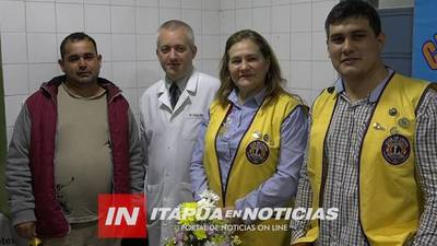 LEONES REPARAN TECHO DEL SERVICIO DE DIABETES DEL HOSPITAL