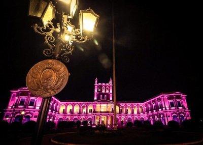 Octubre Rosa: El Palacio se pone a tono