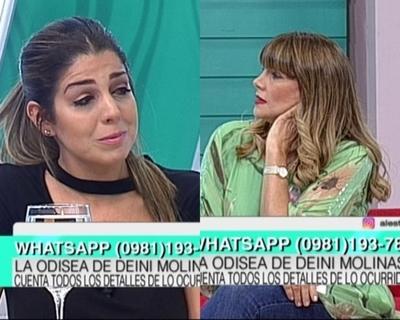 Pelusa Rubín se quebró ante relato de la ex de Iván González Ferreira