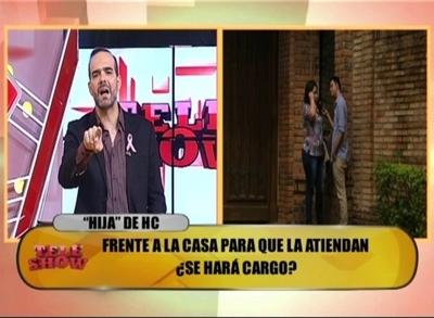 Álvaro Mora y un fuerte cruce con la supuesta hija de Horacio Cartes