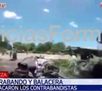 Agentes argentinos enfrentan con disparos a contrabandistas