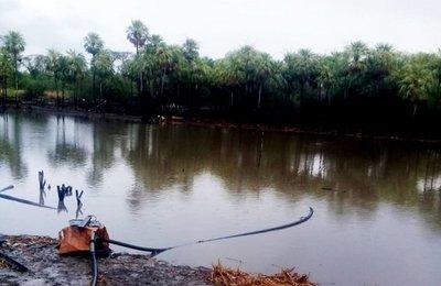 Pequeño alivio para comunidad del Alto Paraguay tras la lluvia de ayer