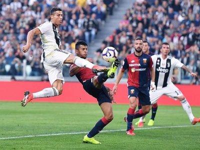 Juventus se deja los primeros puntos ante el Génova