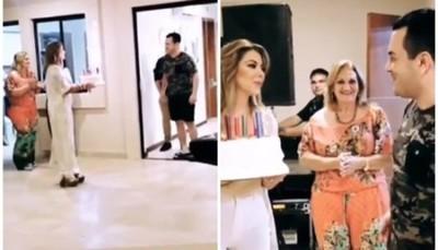 La Fiesta Sorpresa Que Marly Figueredo Le Preparó A Su Marido