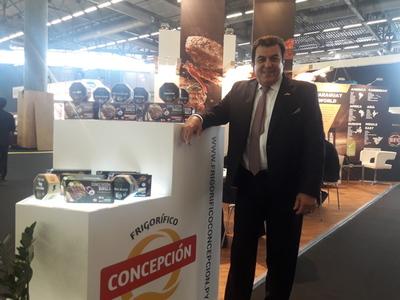 Buscando nuevos mercados para la carne paraguaya, Concepción presente en la Feria de Sial