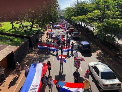 Marcha contra Zacarías