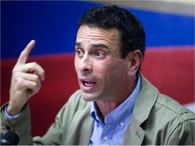 """Capriles dice que el Gobierno hace """"negocio multimillonario"""" con el hambre"""