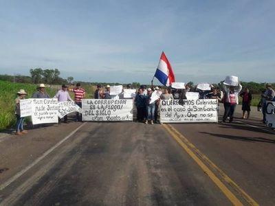 Pobladores de San Carlos del Apa reclaman transparencia