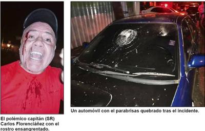Florenciáñez herido en gresca entre hurreros y barras de Cerro