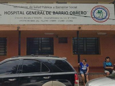 Susto en Hospital de Barrio Obrero por explosión de tablero eléctrico