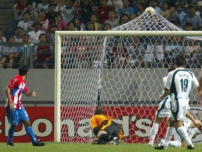 Pipino y un golazo como los que hizo en el Mundial